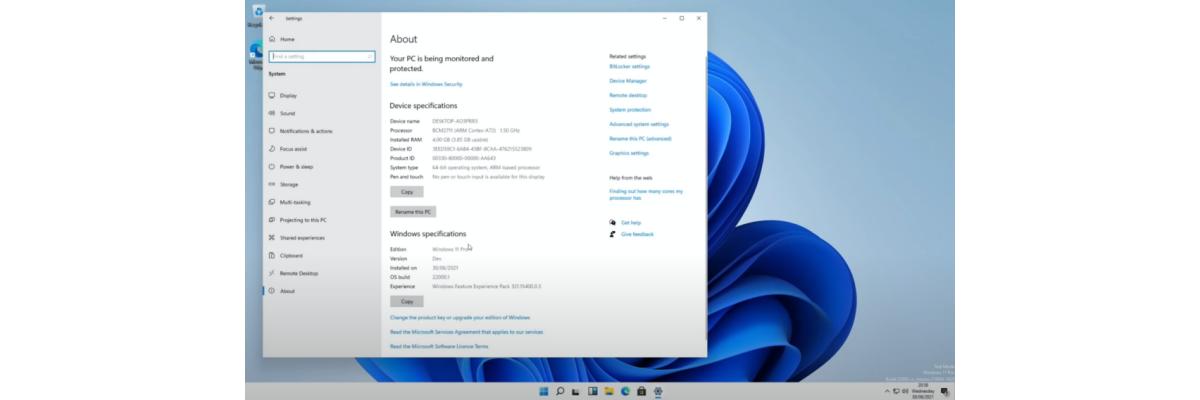 Install windows11 on raspberry pi 4 - Install windows11 on raspberry pi 4