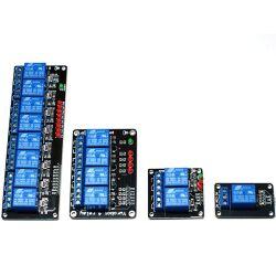 5V/220V 8 Channel Relay Shield LED for Arduino 8 Kanal Relais Modul LED