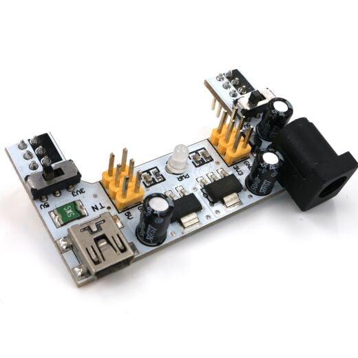 XD-42 Spannungsversorgung 2 Channel 3.3V 5V MB102 Breadboard Power Supply Module