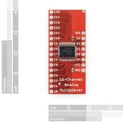 SparkFun Analog Digital MUX Breakout - CD74HC4067
