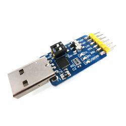 3,3V/5V Typ A USB to TTL Konverter Modul 2x6 Pin...