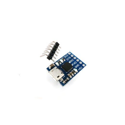 3,3V/5V Micro USB to TTL UART 6 Pin Serial Converter STC Chip CP2102 Module Arduino