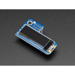 Adafruit PiOLED - 128x32 Monochrome OLED Add-on for...
