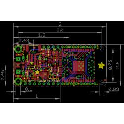 Adafruit Wireless HUZZAH32 - ESP32 WROOM32 Feather Board Arduino IDE
