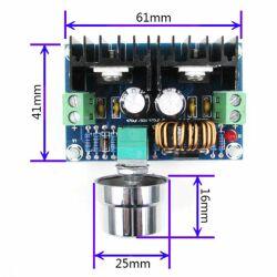 DC-DC 4V-40V to 1,25V-36V 200W 8A Step-down Voltage Regulator Power Modul XL4016