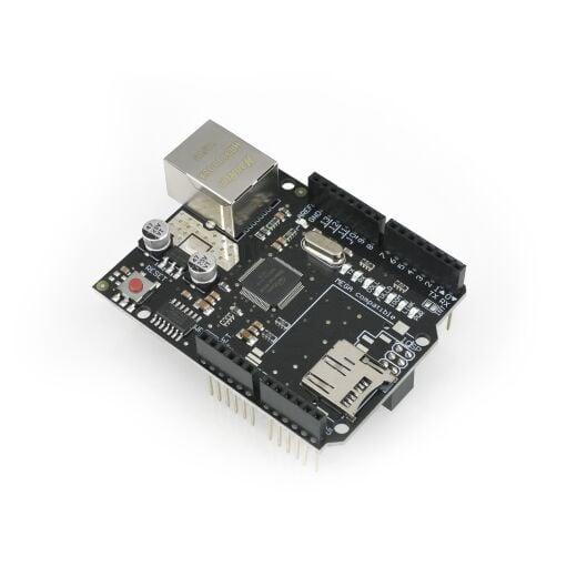 HIMALAYA basic W5100 Ethernet Shield mit Micro-SD-Stecker für Arduino Uno Mega