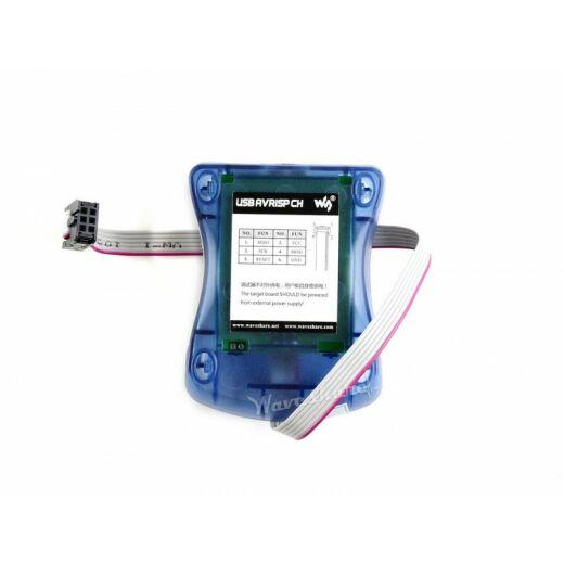 Waveshare AVR ISP Programmer, Supports AVR Studio 4/5/6/7 CH340G USB to UART