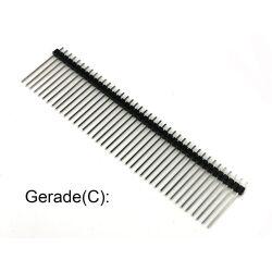 Single Double Row Pin Male Header Stiftleiste Strip 1x40...