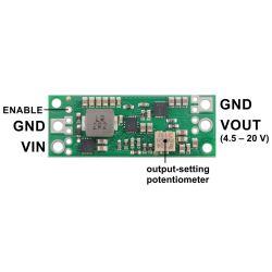 Pololu 4.5-20V Fine-Adjust Step-Up Voltage Regulator U3V70A