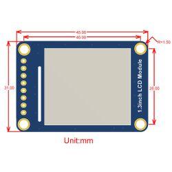 WaveShare 240x240, General 1.3inch LCD display Module, IPS, HD