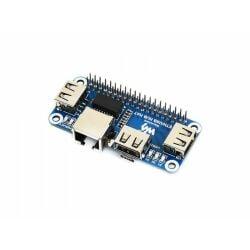 WaveShare Ethernet / USB HUB HAT for Raspberry Pi, 1x...