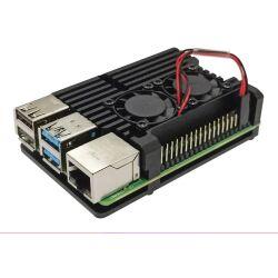 Raspberry Pi 4 Gehaeuse Case aus Aluminium mit...
