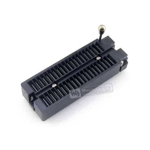 ARIES DIP 40 Pin ZIF Socket (ARIES Black) IC Test & Burn-in Socket for DIP40 package