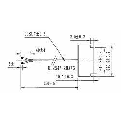 Audiowell Flow Sensor for Ultrasonic Water Meter Flow Rate Measurement Smart Meter 1MHz US0039