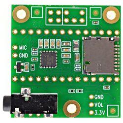 PJRC Audio Adaptor Board for Teensy 4.x (Rev D), 16bit...