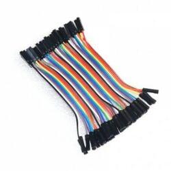 QITA 40p 10cm Jumper Wire Kabel Female to Female...