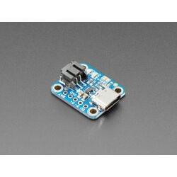 Adafruit Micro-Lipo Charger for LiPoly Batt with USB Type...
