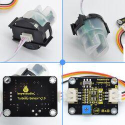 Keyestudio Turbidity Sensor V1.0 for Arduino Water Testing with Wires