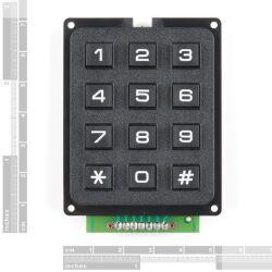SparkFun Qwiic Keypad - 12 Button