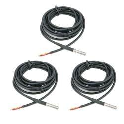 1m DS18B20 Digital Wasserdicht Temperatur Sensor Modul  LS4G SE08012 3 Stück