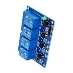5V/220V 4 Channel Relay Shield LED for Arduino 4 Kanal Relais Modul LED für Arduino