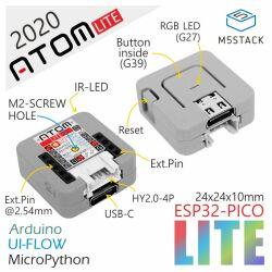 M5Stack ATOM Lite ESP32 Development Kit, ESP32 PICO Chip...