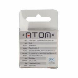 M5Stack ATOM Matrix ESP32 Development Kit with 5x5 WS2812C RGB LED
