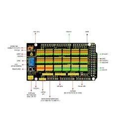 Keyestudio MEGA Sensor Shield V1 for Arduino Mega 2560 to Expand Power Output