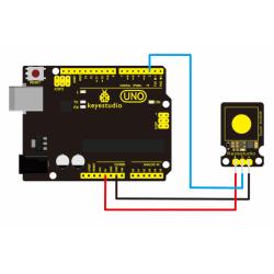 Keyestudio Capacitive Touch Sensor Module for Arduino 3.3V to 5V