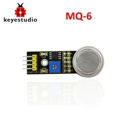 Keyestudio MQ-6 Propane Butane Liquefied Petrol Natural Gas Sensor Module