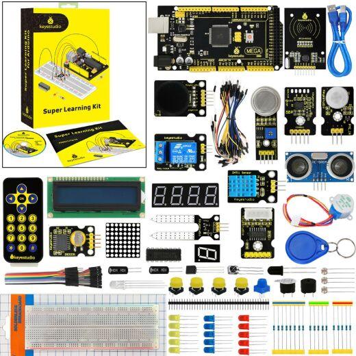 Keyestudio Super Starter Learning Kit for Arduino Projects (w/ Mega 2560)