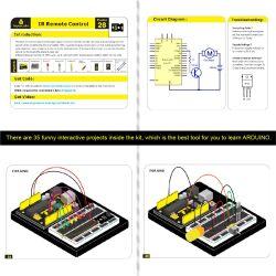 Keyestudio Maker Learning Starter Kit for Arduino Starter (w/o Uno R3)