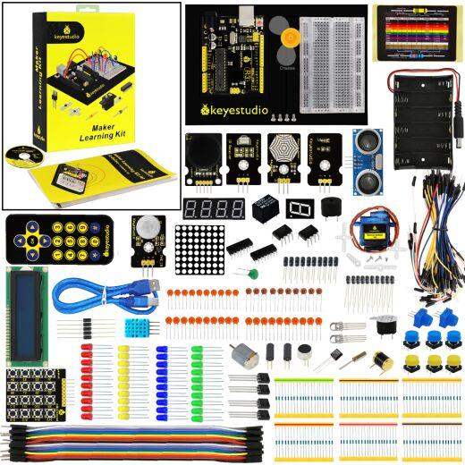 Keyestudio Maker Learning Starter Kit for Arduino Starter (w/ Uno R3)