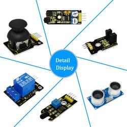 Keyestudio New 30 in 1 Sensor Kit for Arduino Starter (w/ Mega 2560)