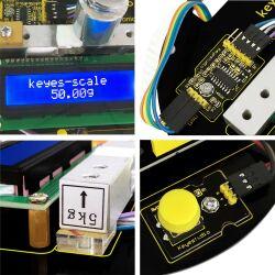Keyestudio DIY Electronic Scale Starter Kit For Arduino...