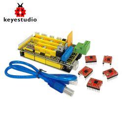 Keyestudio 3D Printer Kit for Arduino Mega 2560 (RAMPS 1.4 + A4988 + 12864 LCD)