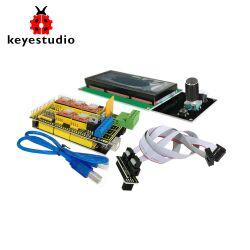 Keyestudio 3D Printer Kit for Arduino Mega 2560 (RAMPS 1.4 + A4988 + 2004 LCD)