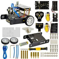 Keyestudio KEYBOT Coding Education Robot for Arduino STEM Mixly Block/C Programming