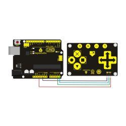 Keyestudio TTP229L 16 Key Capacitive Touch Keypad for...