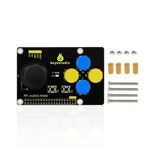 Keyestudio RPI Joystick Shield for Raspberry Pi, PCF85911 Chip 5V