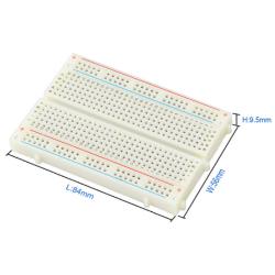 Keyestudio 3x 400 Holes Mini Solderless PCB Breadboard w/ Double-Sided Tape