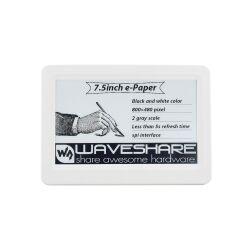 WaveShare 7.5inch Passive NFC-Powered e-Paper, No Battery