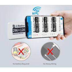 WaveShare 2.9inch Passive NFC-Powered e-Paper, No Battery
