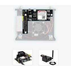 WaveShare Metal Case (C) Camera Holder Internal Fan Design for Jetson Nano B01