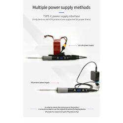SEQURE Type-C Interface Elektrisches Lötkolben SQ-D60B Mini Electric Soldering Iron 60W - TS-B2