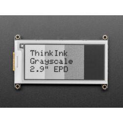 """Adafruit 2.9"""" Grayscale eInk / ePaper Display FeatherWing"""