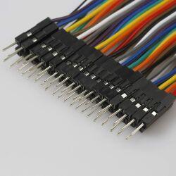 Jumper Wire 10x1Pin Female to Male 40cm for Breadboard,...