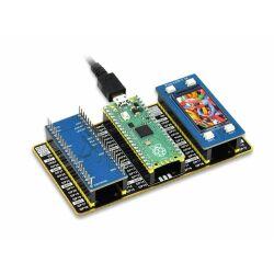 WaveShare Raspberry Pi Pico Evaluation Kit (Type B), The...