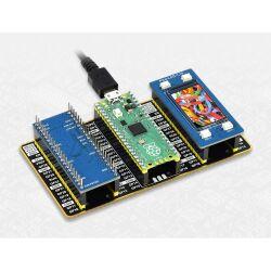 WaveShare Raspberry Pi Pico Evaluation Kit (Type B), The Pico + Color LCD + IMU Sensor + GPIO Expander