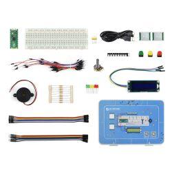 WaveShare Raspberry Pi Pico Basic Kit, MicroPython...